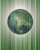 Earth engulf by The Matrix Stock Image
