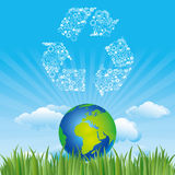 earth and environment icon Royalty Free Stock Images