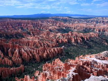 Earth erosion in Bryce Canyon National park Stock Photo