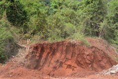 Earth excavation Stock Photo