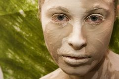 Earth face Royalty Free Stock Photography