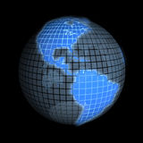 Earth, focus on america, usa Royalty Free Stock Photography