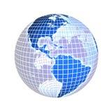 Earth, focus on america, usa Stock Photos