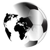 Earth Football Royalty Free Stock Images