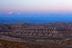 Earth Forest Geopark in Zhada County, Tibet Royalty Free Stock Image