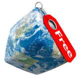Earth Free Price Tag Royalty Free Stock Photos