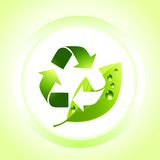 Earth Friendly Icon Royalty Free Stock Photos