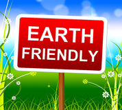 Earth Friendly Means Protection Planet And Nature Stock Photography