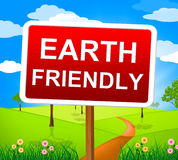 Earth Friendly Shows Conservation Environmental And Natural Stock Images
