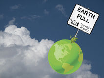 Earth Full Royalty Free Stock Images
