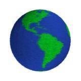 earth fun fur furry planet plush Διανυσματική απεικόνιση