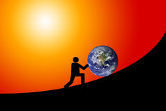 Earth future Royalty Free Stock Image