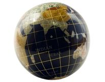 Earth globe. Global businesses concepts or global communications Royalty Free Stock Photos