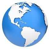 Earth globe Royalty Free Stock Photos