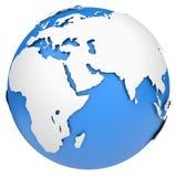 Earth globe Royalty Free Stock Photography