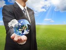 Earth globe Stock Image