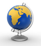 Earth globe Stock Photography