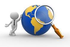 Earth globe Royalty Free Stock Photos