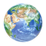 Earth globe - Africa, Europe and Asia Stock Photo