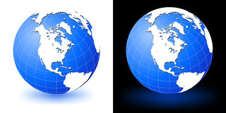 Earth globe. America Stock Photo