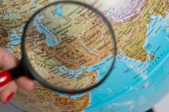 Earth globe Royalty Free Stock Photo