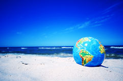 Earth globe. Conceptual image Stock Photography
