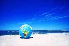 Earth globe. Conceptual image Stock Photos
