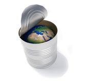 Earth globe conservation Stock Photos