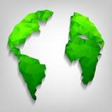 Earth globe. Royalty Free Stock Image