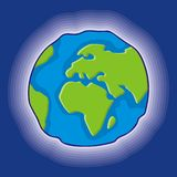 Earth globe icon Royalty Free Stock Photos