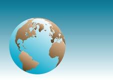 Earth Globe Illustration Royalty Free Stock Photo