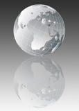 Earth globe illustration royalty free illustration