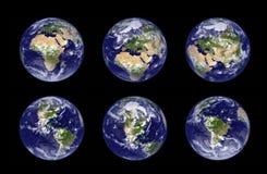Earth globe illustration vector illustration