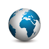 The earth globe Stock Photography