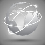 Earth globe Royalty Free Stock Photo