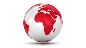 Earth Globe - Loopable stock video
