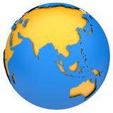 Earth globe model Stock Photography