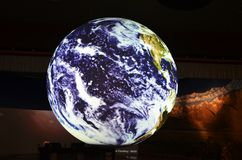 Earth globe model in the National Museum of Natural Science, Taichung Taiwan