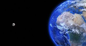 Earth, Globe, Moon, World, Planet Royalty Free Stock Photography