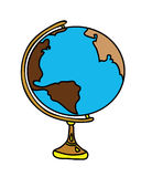 Earth globe Stock Photo