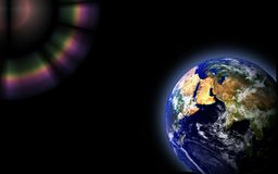 Earth Globe Space Stock Images