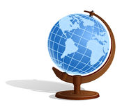 Earth Globe (Sphere) Royalty Free Stock Photography