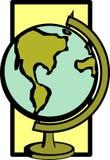 Earth globe vector illustration Royalty Free Stock Photography