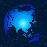 Earth globe world Stock Photos