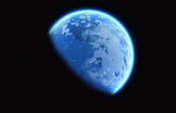 Earth glow Stock Image