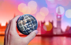 Earth Hand London Royalty Free Stock Photography
