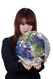 The earth in hands. Stock Photography