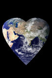 Earth Heart Stock Photography