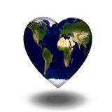 Earth Heart Stock Photography