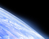 Earth horizon Royalty Free Stock Photography